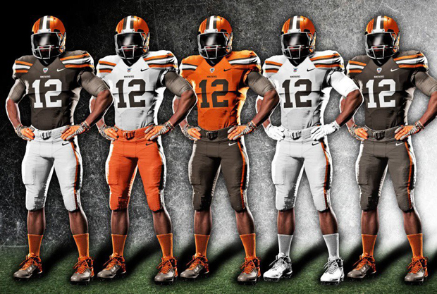 browns uniforms