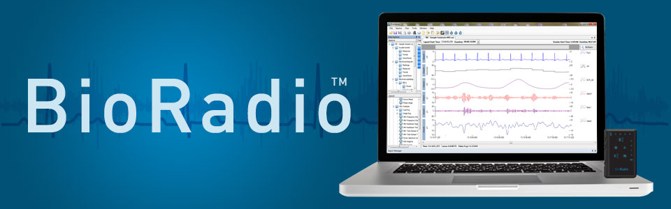 BioRadio biomedical software