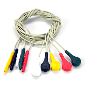 Snap Electrode Lead Wire